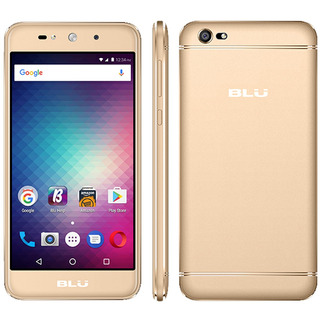 Celular Blu Grand Xl 5.5 Curva Qc 1.3gh1/8gb 8mp And7.0 Oro