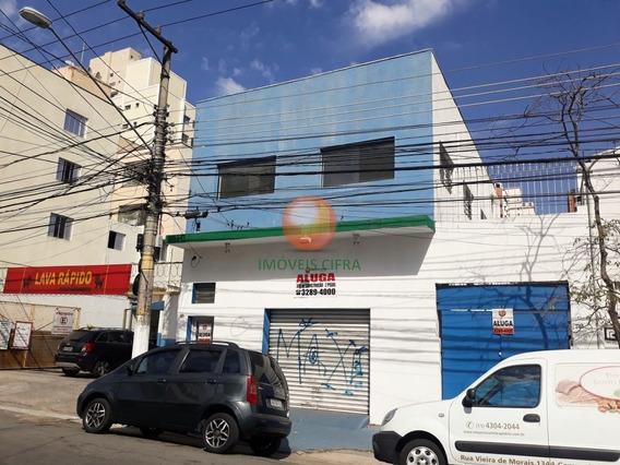 Campo Belo - Imóvel Comercial Com 2 Andares - 370 M² - Rua Vieira De Morais - Ic17476