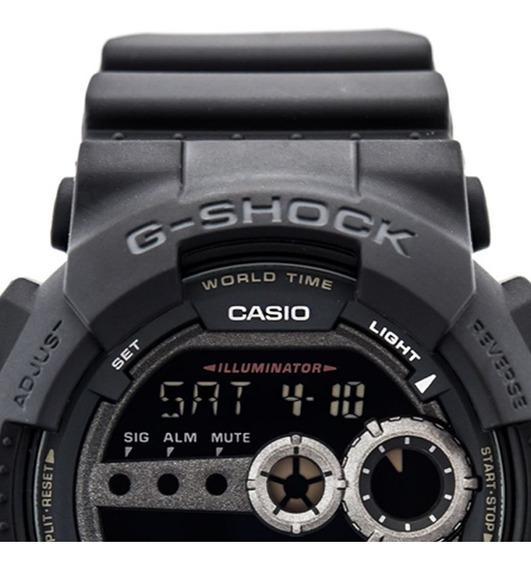 Relógio Casio G-shock Masculino Gd-100-1bdr Com Nf