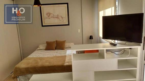 Flat Com 1 Dormitório Para Alugar, 33 M² - Panamby - São Paulo/sp - Fl0013