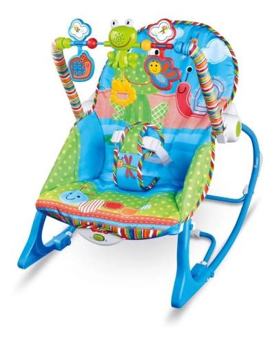 Silla Mecedora Vibradora Musical Antirreflujo Para Bebe
