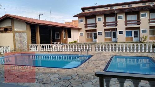 Imagem 1 de 24 de Village Com 2 Dormitórios À Venda, 90 M² Por R$ 240.000 - Estância Balneária De Itanhaém - Itanhaém/sp - Vl0010
