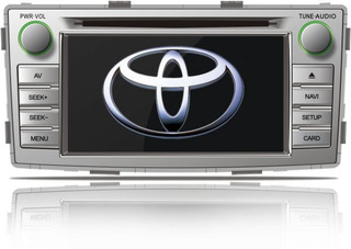 Central Multimidia Toyota Hilux Sw4 2012/ Tv Dvd Gps Camera