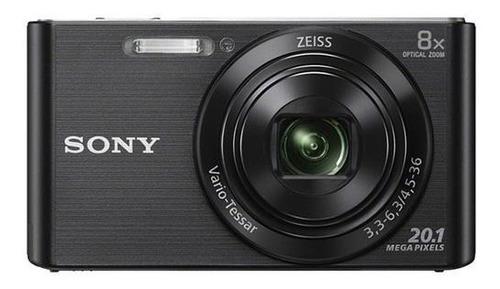 Câmera Sony Cyber-shot Dsc W830 Zoom 8x 20.1mp Preta+ Cartão