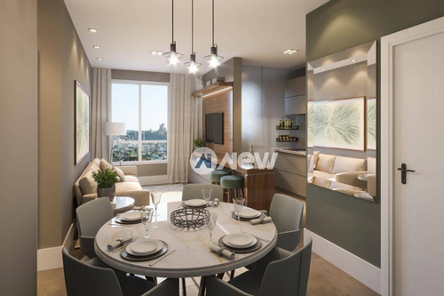 Apartamento À Venda, 58 M² Por R$ 281.340,04 - Centro - Novo Hamburgo/rs - Ap2623