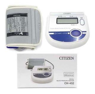 Silfab Tensiometro Digital Automatico De Brazo Citizen Ch452