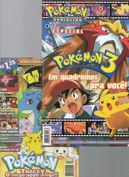 Revista Mangá Pokémon Evolution Nº 2 + Brinde (semi-nova)