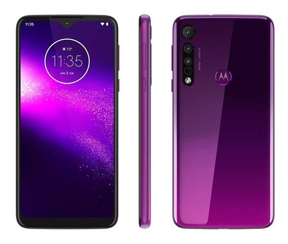 Smartphone Motorola One Macro 64gb Ultra Violeta