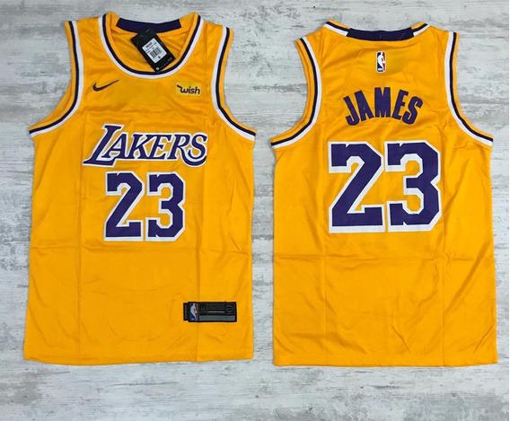 Camiseta Baloncesto Lakers James 23 + Envió Gratis