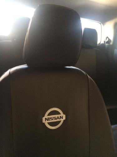Cubre Asiento Nissan Frontier Np 300 2019 Eco Cuero Con Logo