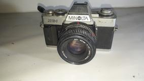 Câmera Minolta Xg-1 Com Zoom Sem Teste