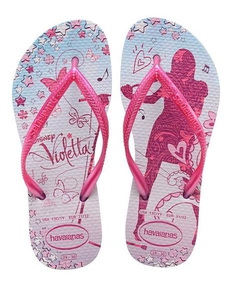 Zonazero Ojotas Havaianas Slim Disney Violeta Niñas