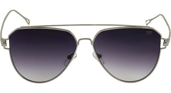 Óculos De Sol Feminino Aviador Degradê - Sabrina Sato