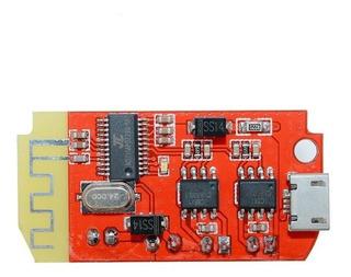 Modulo Amplificador De Audio Bluetooth 5+5w Con Cargador De Baterias Celdas 3.7-5v