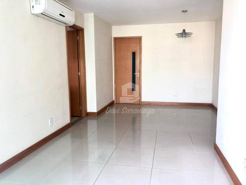 Apartamento Com 2 Dormitórios À Venda, 85 M² Por R$ 655.000,00 - Icaraí - Niterói/rj - Ap0139