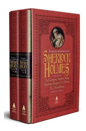 Box - As Novas Aventuras De Sherlock Holmes - 2 Volumes