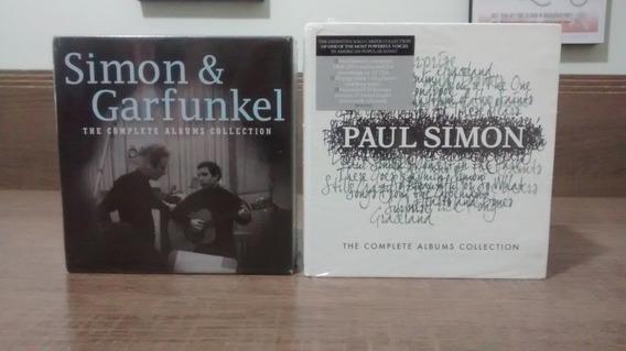 Simon & Garfunkel + Paul Simon - 2 Boxes C/ 26 Cds