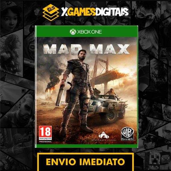 Mad Max Xbox One Midia Digital + 1 Brinde