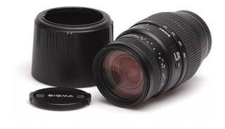 Lente Sigma 70-300mm Dg Macro F4-5.6 Canon Nikon Cuotas