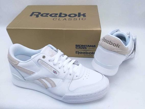 Tênis Reebok X Montana Cans Mtn Classic Branco Original