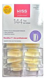 Kiss 144 Tips De Unhas Longo Natural Ref. 144ps11br