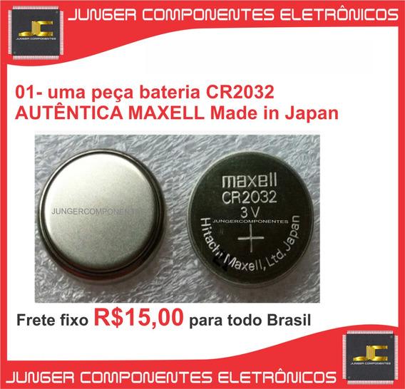 01x Bateria Cr2032 - Maxell