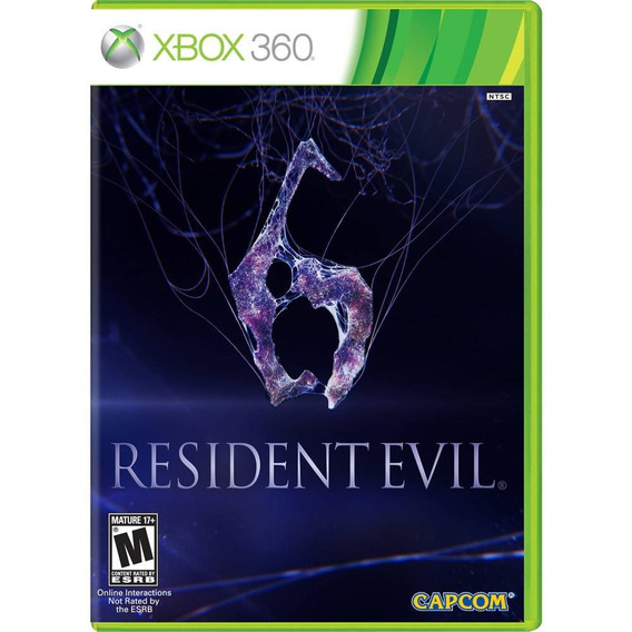 Resident Evil 6 Xbox 360/ Mídia Física / Original