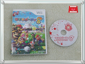 Jogo Original Wii Japonês Mario Party 8