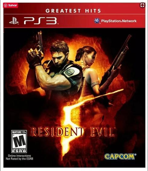 Resident Evil 5 (mídia Física) - Ps3