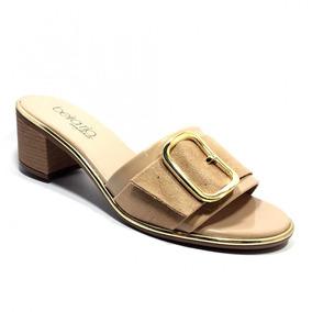 0c1eb5e998 Sapatos Femininos - Tamancos e Mules Beira Rio Bege no Mercado Livre ...