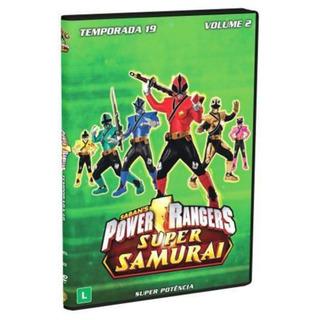 Coleção Dvd Power Rangers