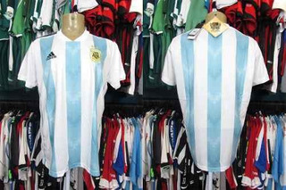 Argentina 2018 Camisa Titular Tamanho M.