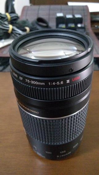 Lente Canon Ef 75-300 Iii Usm F/4 - 5.6 (novíssima)
