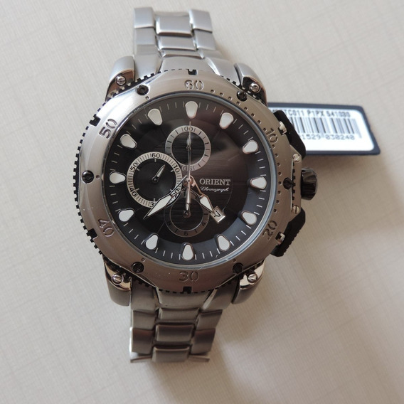 Relógio Orient Mbttc011 Masculino Titânio Frete Grátis Belo