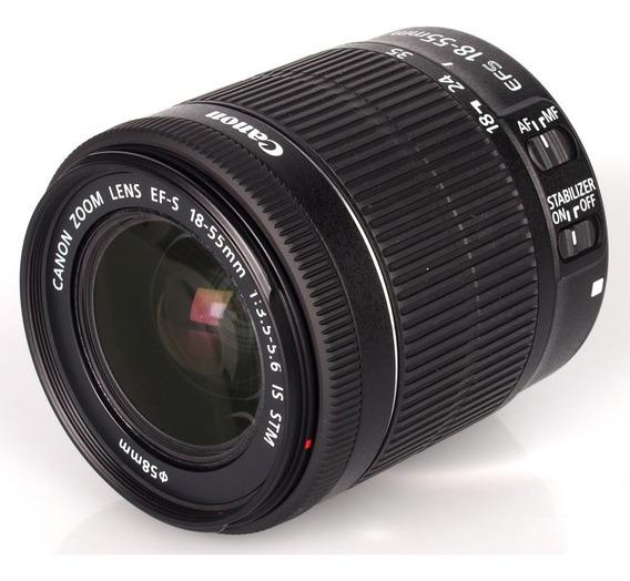 Lente Canon Ef-s 18-55mm F/3.5-5.6 Is Stm C/ Nf E 1 Ano Gara