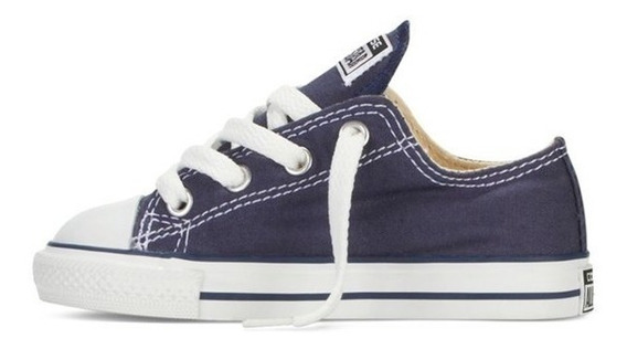 Tenis Azules Converse All Star 100% Originales Para Bebes