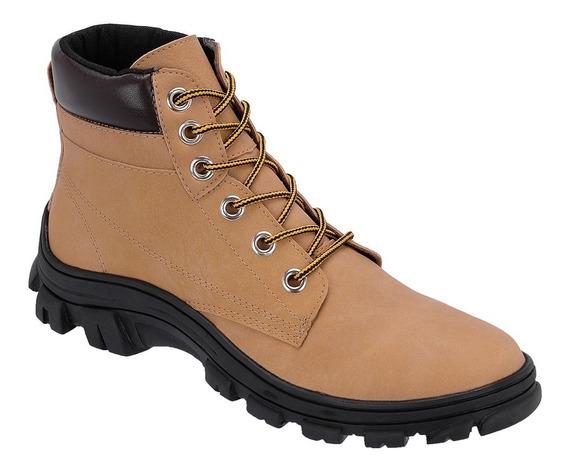 Bota Masculina Sapato Coturno Casual Ref:10.002