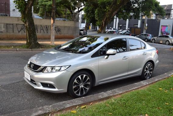 Honda Civic Lxr 2.0 Flex 15/16 Blindado. Excelente Estado.