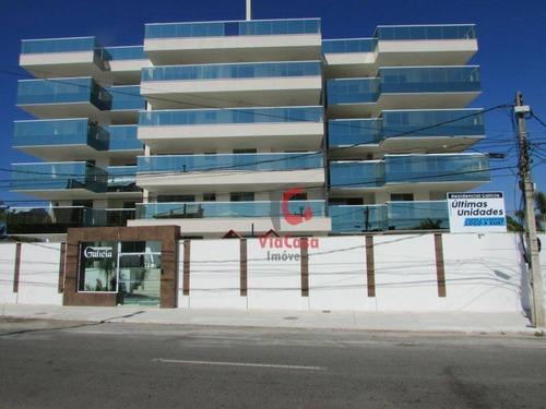 Apartamento Com 3 Dormitórios À Venda, 130 M² Por R$ 501.422,00 - Costazul - Rio Das Ostras/rj - Ap0162