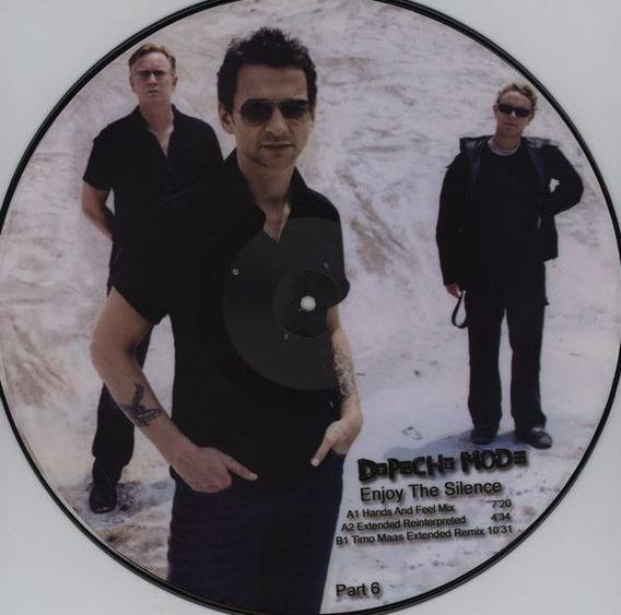 Depeche Mode - Enjoy The Silence Vinilo Picture Disc France