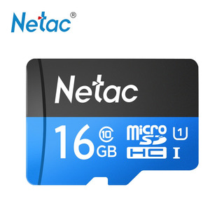 Dados Cartão Memória Flash Netac P500 Classe 10 16g Micro Sd