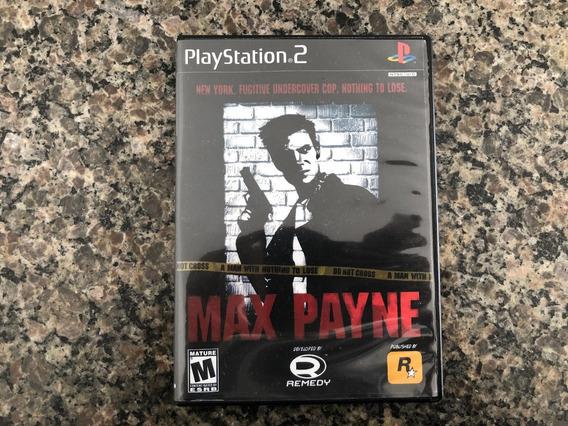 Max Payneps2 Original Americano Frete Grati$