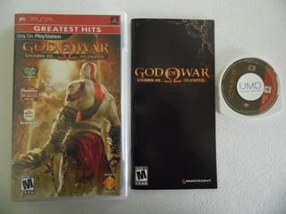God Of War Chains Of Olympus De Psp