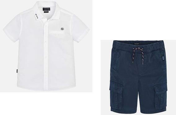 Mayoral Conjunto Camisa Y Short Niño Est. 6124 #8 Años B
