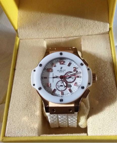 Relógio Hublot Big Bang Automático Máquina Eta 7750 Cerâmica