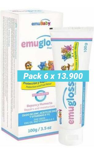 Emugloss 100gr.  Pack 6