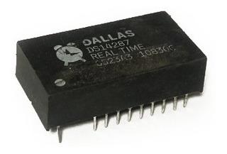 Circuito Semiconductor Ds14287 Reloj De Tiempo Real (rtc)