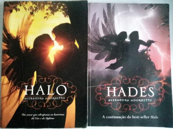 Lote 2 Livros Hades E Halo Romances