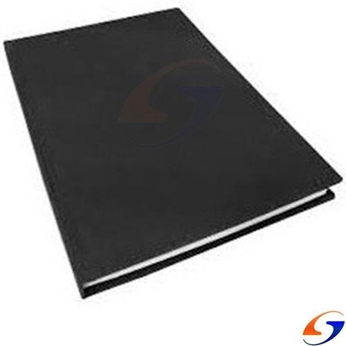 Libro A4 Liso Tapa Dura Negra 100folios Serviciopapelero