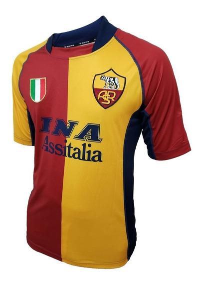 Camiseta De La Roma Suplente Kappa #20 Batistuta
